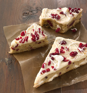Homemade Cranberry Bliss Bars from Starbuck's
