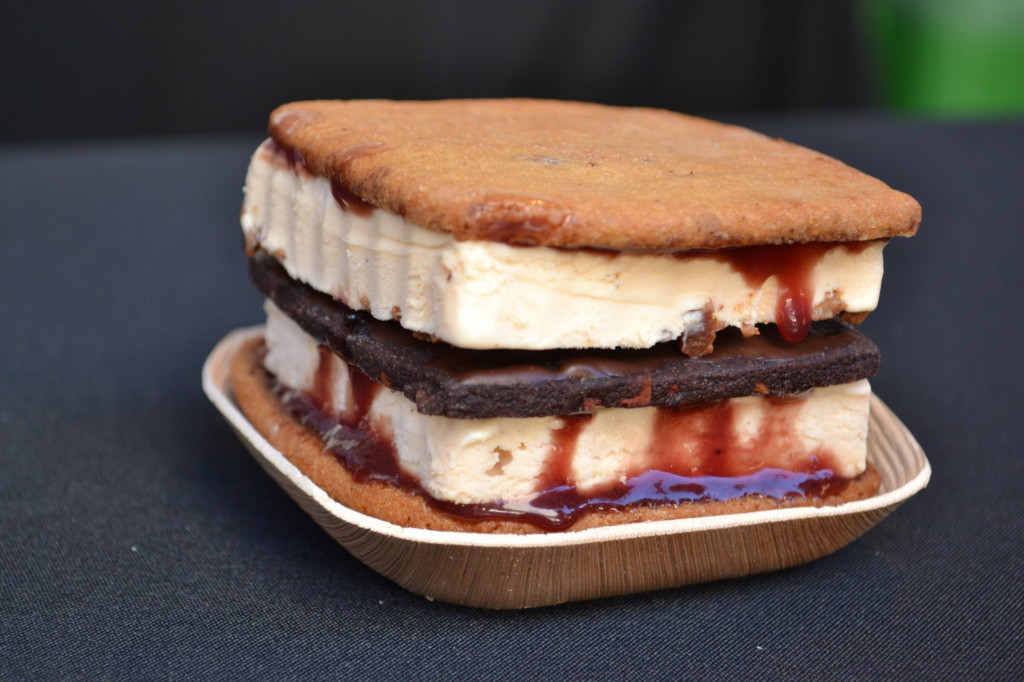 Insane ice cream sandwich from Ruby Jewel at last year's Sandwich Invitational