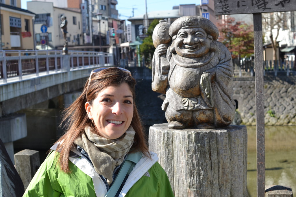 "Enjoying a chilly but sunny morning in Takayama, the ""Japanese Alps"""