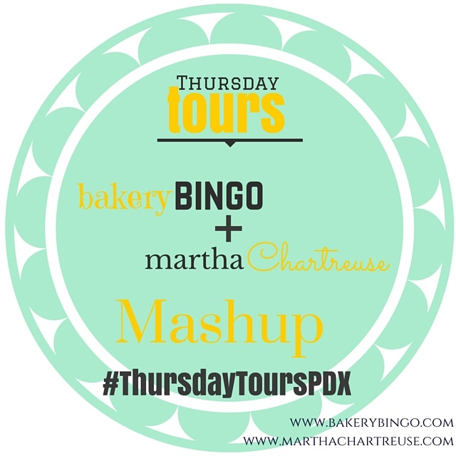 Thursday Tours PDX Mashup lunch brunch bakery bing martha chartreuse portland oregon