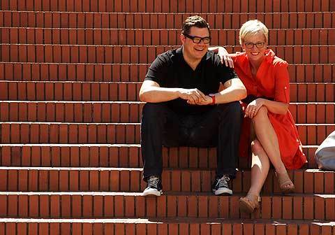 Feast co-founders Mike and Carrie. Photo credit: Oregon Live