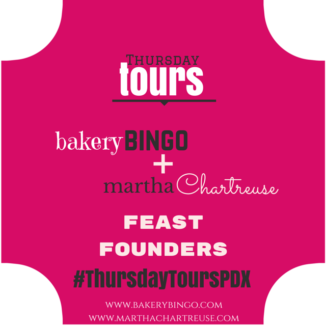 #thursdaytourspdx Feast Founders Carrie Welch Mike Thelin