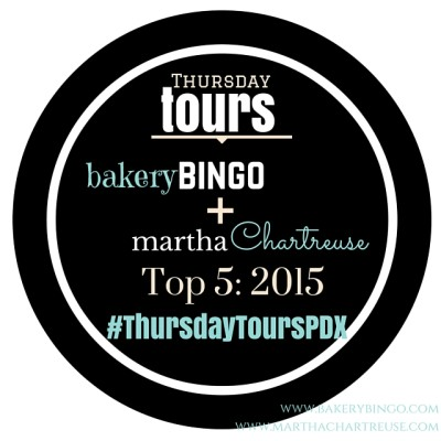 Thursday Tours PDX top 5 2015