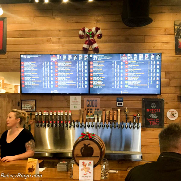 DigitalPour tapboard at Portland Cider House