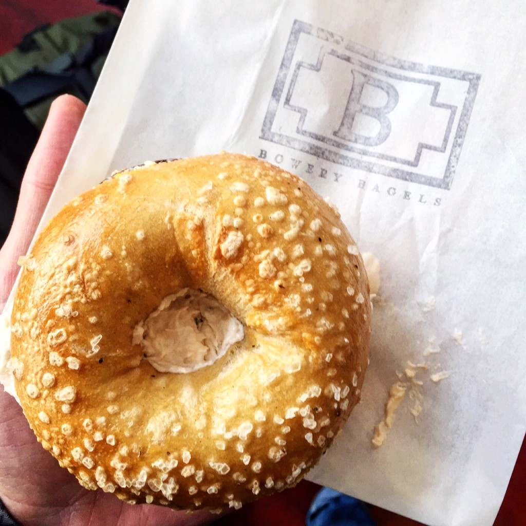 salt& pepper bagel