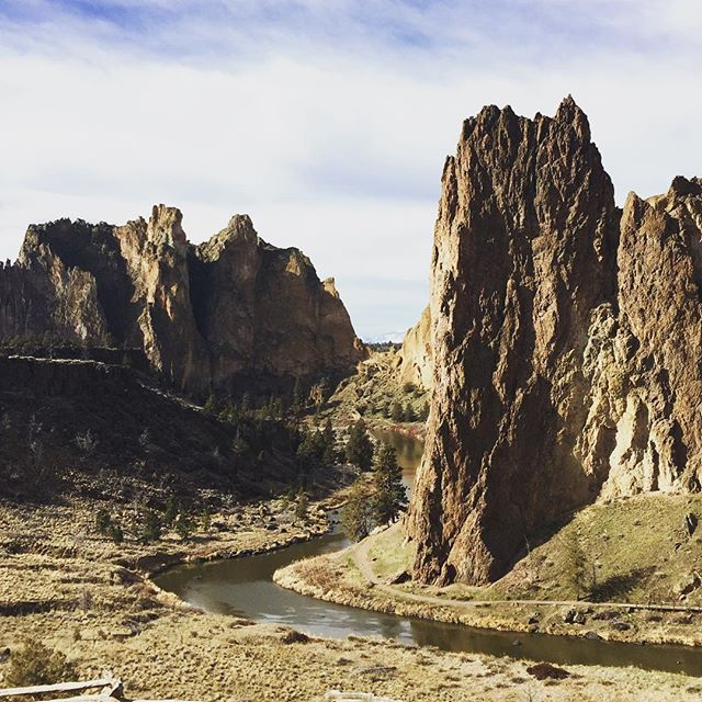 Finally visited the beautiful Smith Rock!