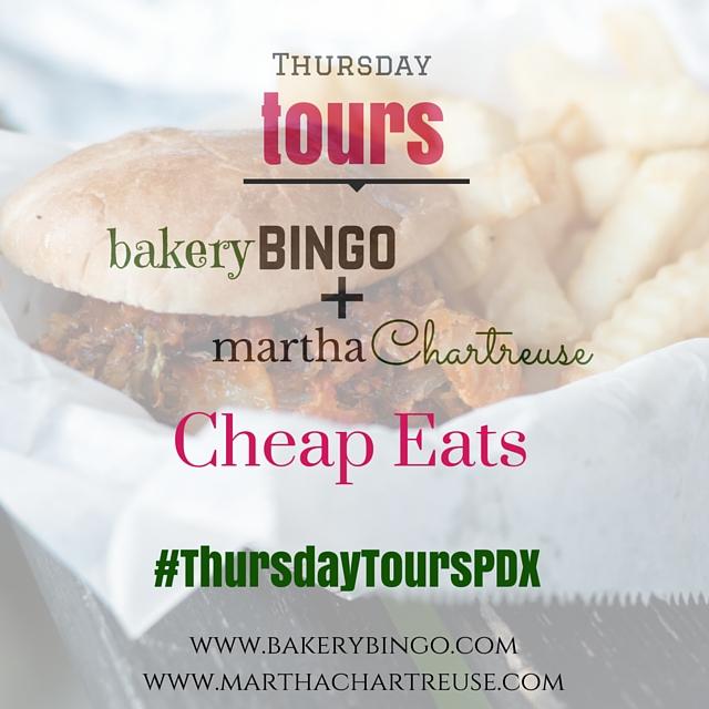 Thursday Tours Cheap Eats