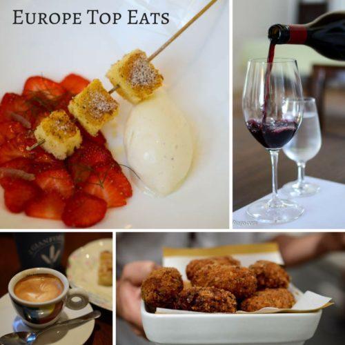Europe Top Eats